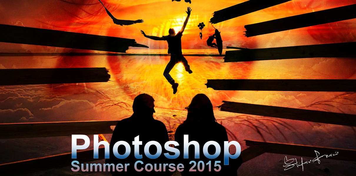 Marbella Design Academy -Photoshop Summer Course Works
