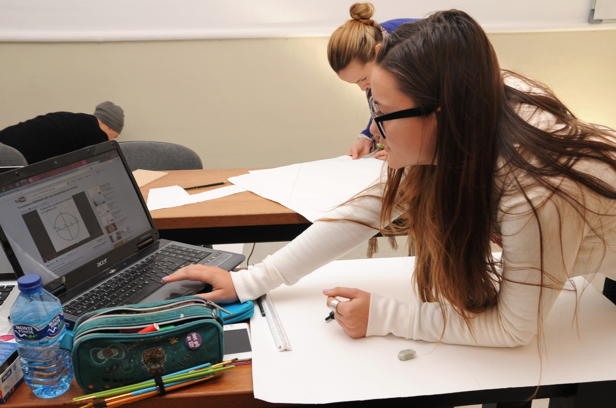 student in Marbella design academy