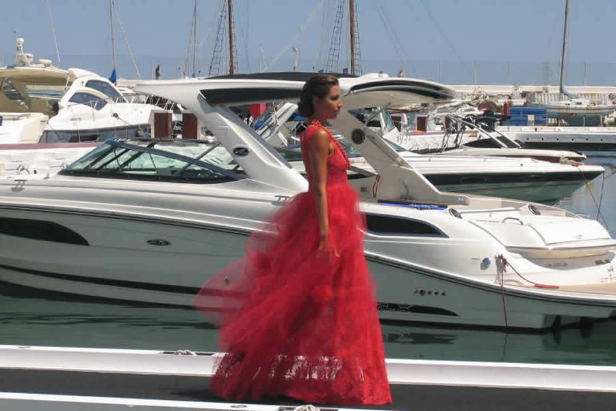 fashion design in Puerto Banus