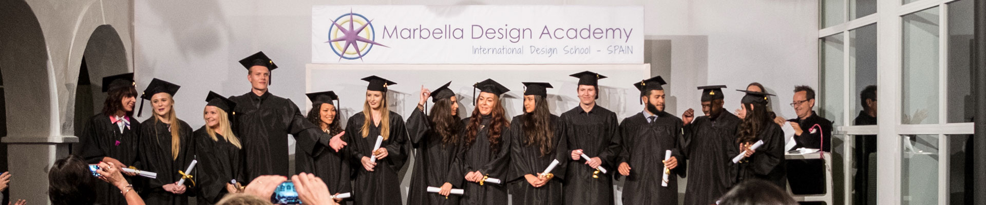 Graduation Ceremony in Marbella Design Academy